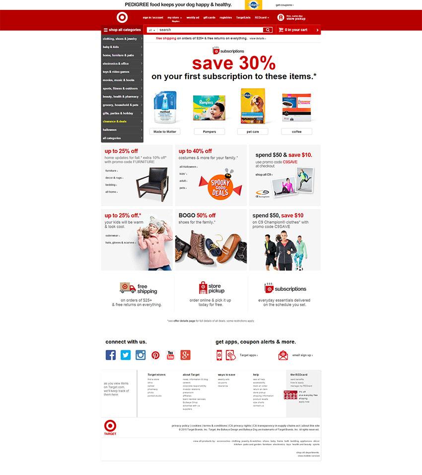 e commerce daily deals
