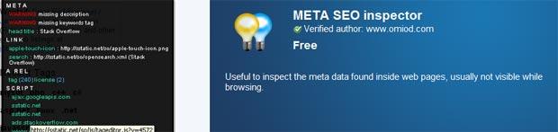 META SEO Inspector Extension