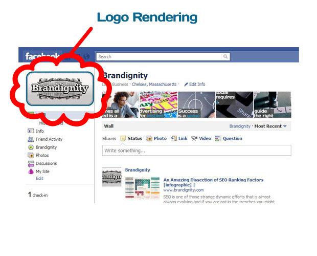 Facebook Logo Rendering