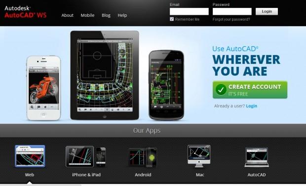 AutoCAD WS Screenshot