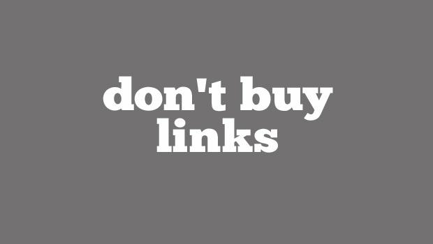 Don't Buy Links