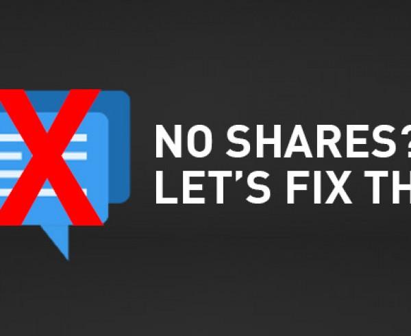 No Social Shares