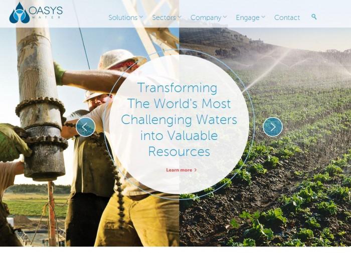 oasys water