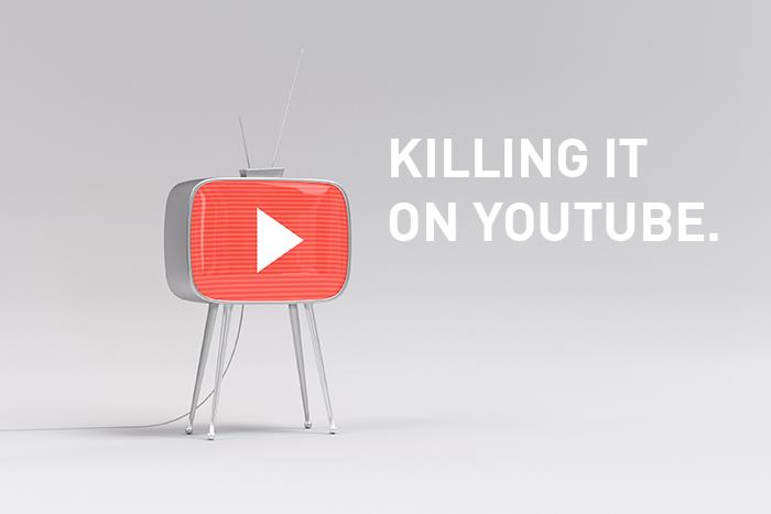 Killing it on YouTube