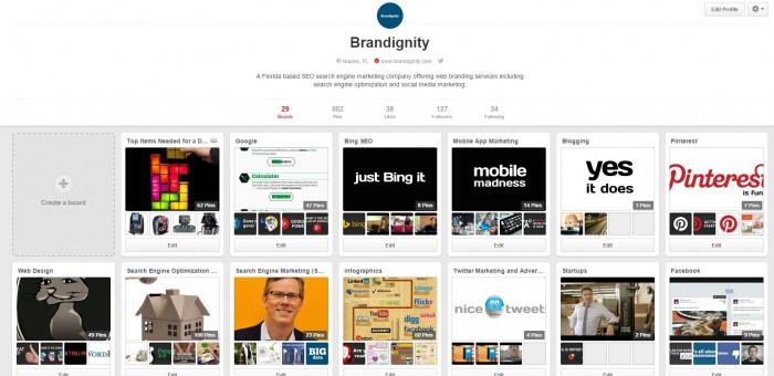 Pinterest Brandignity