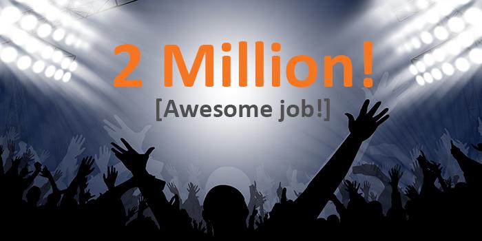 HubSpot 2 Million