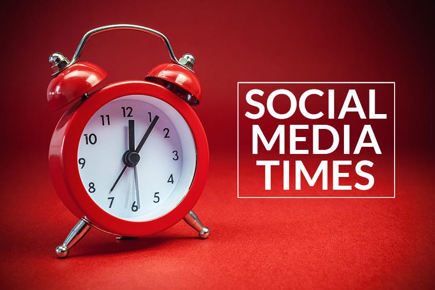 Best Social Media Times