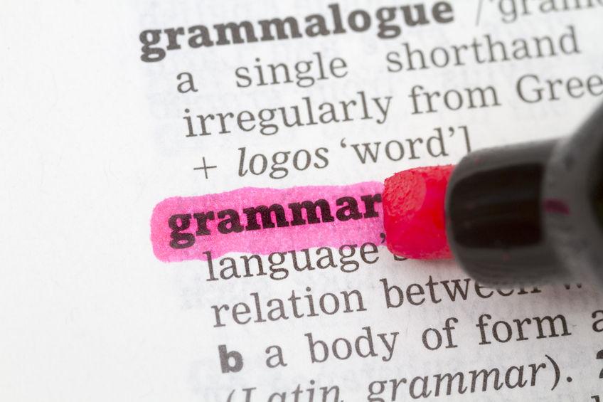 Grammar & Branding