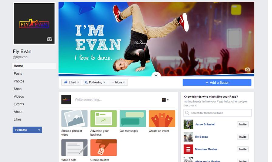 Fly Evan Facebook