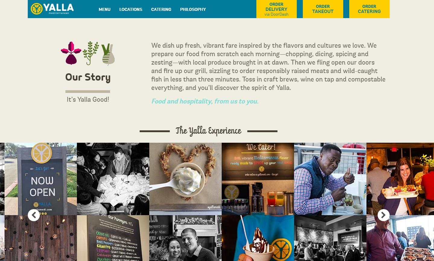 Website Story