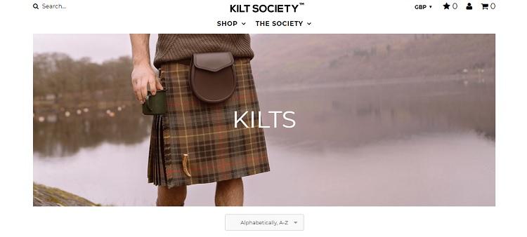kilt society