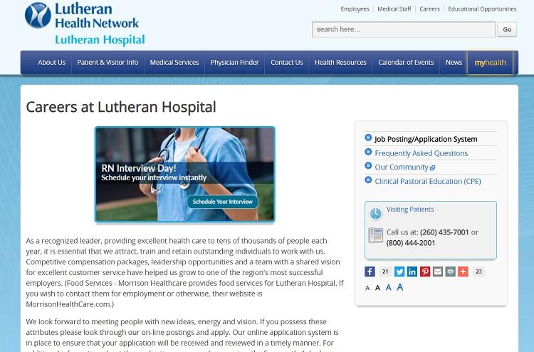 Careers Page branding