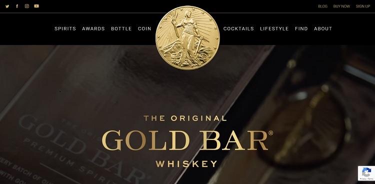 gold bar whiskey